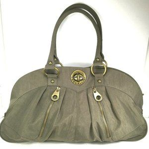 Baggallini XL Olive Green Carryall Satchel Tote